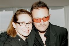 Variety's marketing chief Madelyn Hammond and Bono at the Creative Coalition party in Cannes, May 2008. #u2newsactualite #u2newsactualitepinterest #u2 #bono #paulhewson #rock #music #cannes #france #film #festival   www.hollywood-elsewhere.com/category/wired/page/35/