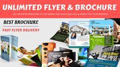 design Outstanding  Flyer and Brochure design