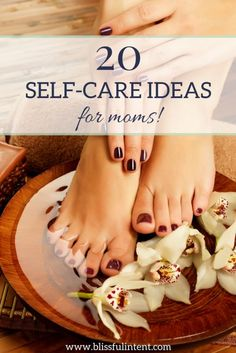 Self-care for moms is crucial. We work long hours and rarely take time for ourselves. Well no more! Here are 20 self-care ideas for moms!