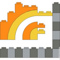 A visual dictionary for LEGO® building techniques Lego Math, Lego Craft, Lego Duplo, Lego Super Mario, Lego Sculptures, Micro Lego, Lego Construction, Lego Modular, Lego Castle