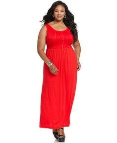 plus size maxi dress | Plus Size Sleeveless Maxi Dresses 2013_04