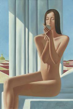 """topcat77: """" Anastasia Bazanova Morning oil on canvas """""""
