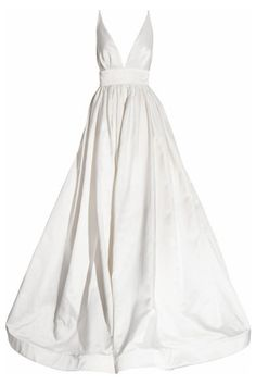 Structural folds: Kaufmanfranco Silk-satin gown, from Net-A-Porter, $9472.