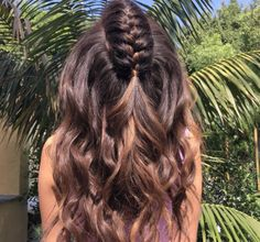 The unicorn braid is summer hair goals.