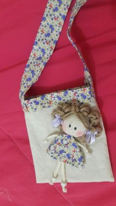Best 12 One Canvas Doll Carrier / Doll Tote / Taking Along bag / Bed Carrier – SkillOfKing. Patchwork Fabric, Patchwork Bags, Sewing Crafts, Sewing Projects, Doll Carrier, Diy Bags Purses, Fabric Toys, Sewing Dolls, Girls Bags