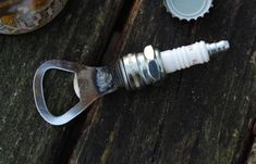 Spark Plug Bottle Opener by 40WestMetalWorks on Etsy