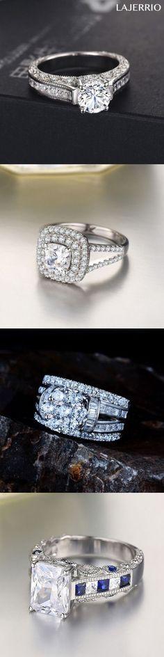 Lajerrio engagement rings for women #engagement wedding rings
