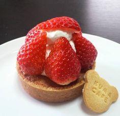 苺のミルクタルト