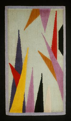 rug, 1920s via The Art Institute of Chicago