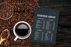 Coffee menu template coffee menucoffee menu coffee | Etsy French Coffee, Italian Coffee, Turkish Coffee, Coffee Cards, Coffee Menu, Menu Flyer, Food Menu Template, Restaurant Menu Design, Change Image