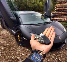 The keys to your Lamborghini!