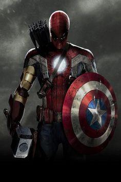 $5.99 - Captain America 3 Movie Spider Man Iron Man Silk Art Poster Print Home Decor . #ebay #Collectibles