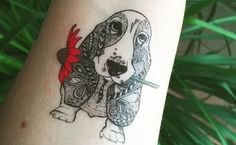 These Basset Hound tattoos will make you want to get inked.