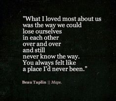 What I loved most about us...