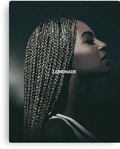 Beyonce Lemonade Canvas Print