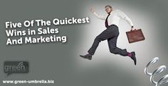 Check out this fab blog: Five quick wins in sales and marketing - written by Jackie Jarvis