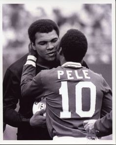 muhammad ali and pele