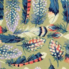 Shop   Category: Farmington   Product: Martha Negley Farmington Feathers Olive