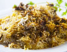 Raw meat slow-cooked with the rice to produce a succulent, fragrant, layered delight.