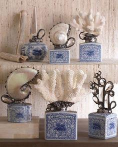 Porcelain Ginger Jars by Trinka 5 Designs at Horchow.