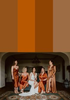 Looking for tips on styling mismatched bridesmaid dresses? Check out these color palettes to help you bring your vision together!    Image by Los Ebano Mismatched Bridesmaid Dresses, Bridesmaid Dress Colors, Bridesmaids, Bridesmaid Inspiration, Wedding Inspiration, Wedding Ideas, Fall Wedding, Unique Wedding Colors, Los Angeles Wedding Photographer