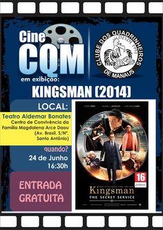 Clube dos Quadrinheiros de Manaus: Cine CQM - Kingsman