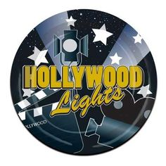 Hollywood Lights Theme 9Inch Paper Plate - Pack of 96 by Partyrama, http://www.amazon.co.uk/dp/B002RYVV82/ref=cm_sw_r_pi_dp_CJDlsb00TSS7D