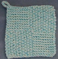 Practice new stitches while creating a practical piece of kitchen decor.  This free knitting pattern for the Quick Knit Potholders will show you just how simple it is to knit for the home.
