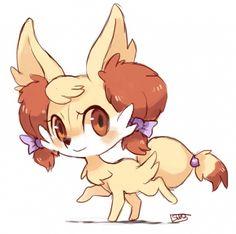 OMG this Fennekin is sooo cute <3