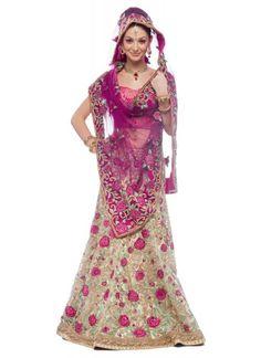 Stylish Indian Bridal Wear Lehnga and Cholo 6 Stylish Indian Bridal Wear Lehnga and Choli