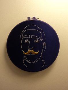 Turn a Photo into an embroidery! I have to try this for sure. :)
