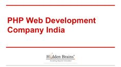 php-web-development-company-india-28517285 by Ethan Samuel via Slideshare