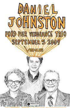 Daniel Johnston - Ford Pier Vengeance Trio
