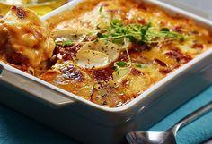 Sunn og spennende potetlasagne