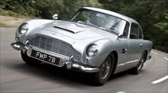 Aston Martin DB5 - the most beautiful car, ever. No arguments.
