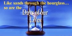 Like sands through the hourglass...so are the days of our lives.   Quote for fence in garden.