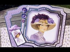 Hunkydory My Fair Lady Acetate Easel Card - YouTube