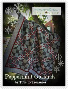 Peppermint Garland Quilt « Moda Bake Shop
