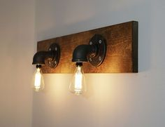 Ana White | EASY Industrial Wood Pipe Light - DIY Projects
