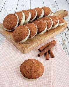 Kaneelkoekjes met witte chocolade - Homemade by Joke