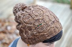 Ravelry: Owl in the Thicket Hat pattern by Sara Burch
