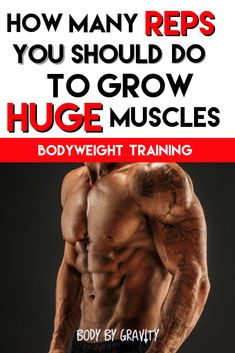 How many Reps you should do to finally grow huge muscles #Reps #Muscles #Grow #BodyweightMoves #Exercises #Training #Men #Gym #Hugh #Muscle