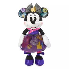 Minnie Mouse: The Main Attraction Plush – Nighttime Fireworks & Castle Finale – Limited Release | shopDisney
