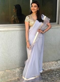 abu sandeep sarees, kajal agarwal in saree% Bollywood Bikini, Bollywood Cinema, Bollywood Photos, Bollywood Saree, Bollywood Actress, Bollywood Celebrities, Tamil Actress Photos, Beauty Full Girl, Indian Beauty Saree