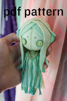 human doll pattern / small doll pattern / human plushie pattern / human sewing…