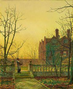 John Atkinson Grimshaw - Autumn Gold