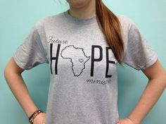 Tshirts with a purpose. Serving the children of Uganda. Striving to give them a hope and a future!!