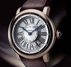 Cartier Rotonde Astrotourbillon