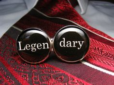 Legendary Cufflinks  Mens Accessories  The by UpscaleTrendz, $39.00. HIMYM classic goodness.