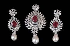 Diamond pendant set by PP Jewellers